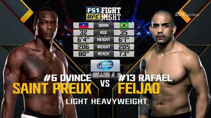 Ovince Saint Preux vs Rafael Feijao (ufc Fight Night 82, 06.02.2016)