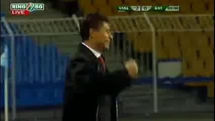 Черноморец - Ботев (пловдив) 2:0