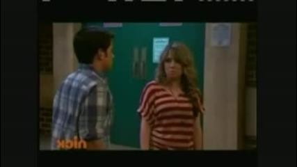Sam and Freddie's 1st 2nd Kiss [ Icarly]
