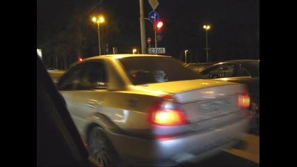 Audi Rs6 Evotech 750hp vs Lancer Evo6 600hp