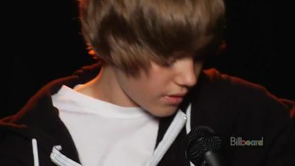 Justin Bieber - One Time ( Full Acoustic Live ) (високо качество)