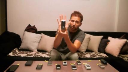 Назад във времето на мобилните телефони