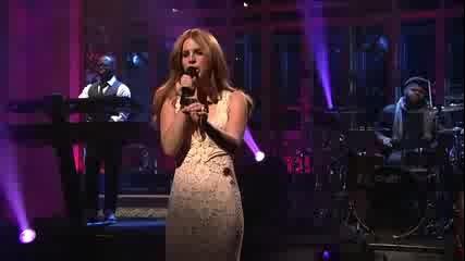 Може ли да пее Lana Del Rey? (live изпълнение)