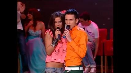 Milica Pavlovic i Nikola Bokun - Daleko si - Zvezde Granda - (LIVE) - (TV Pink 2012)