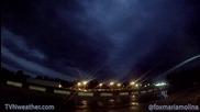 Time lapse - Буря в Охайо
