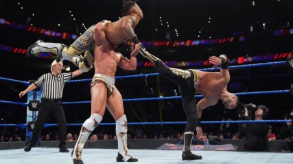 Lio Rush & Raul Mendoza vs. Tony Nese & Ariya Daivari: WWE 205 Live, Nov. 15, 2019