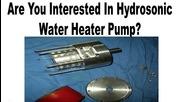 Homemade Heat Pump - Hydrosonic Pump Heater Plans