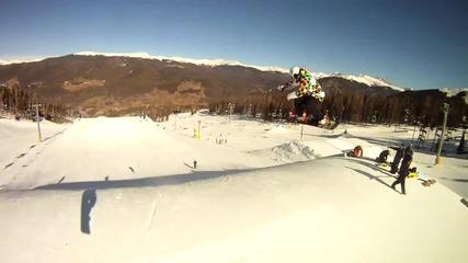 Невъзможното стана възможно - Световен рекорд Сноуборд