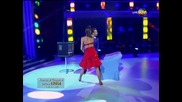 Dancing Stars - Антон и Дорина джайв (18.03.2014г.)