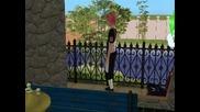 Sims и герои oт наруто