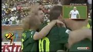 Алжир - Словения 0 - 1 Голът на Корен