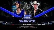 Wwe 13 - John Cena срешто J B L на арена Smack down 2005 на ps3
