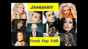 Fresh Pop Folk Mix by Dj Maka January 2012