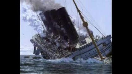 The Titanic Lusitania And Britannic.