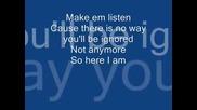 Peggy - Here I Am (lyrics)