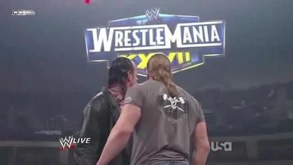 Wwe2/21/11 - Triple H and Undertaker returns (hd)