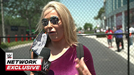 Natalya moved by the return of WWE Universe: WWE Network Exclusive, April 10, 2021