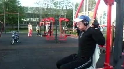 Детелин тренира на игрище Септември