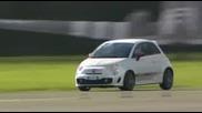 Fiat 500 Abarth и Стиг Правят Обиколки На Пистата На Тоp Gear