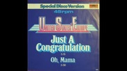 United States Of Europe - Just A Congratulation 1979