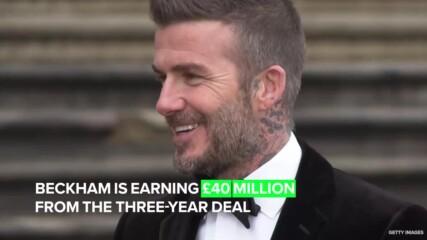 Бекъм печели повече от FIFA 21, отколкото от реалните отбори, в които е играл!
