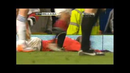 Манчестър Юнайтед - Блекбърн 6 - 0 гол на Бербатов