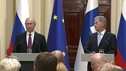Finland: Putin says Russia is 'disappointed' by US missile test