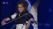 Прелестна Цигулка / 2013 / Lindsey Stirling - Crystallize (willkommen bei { водеща } Carmen Nebel )