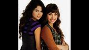 ..selena Gomez and Demi Lovato..
