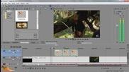 Как да сложим картинка към видео - Sony Vegas Pro 13 Tutorials епизод 5