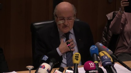 Switzerland: 'I have become a punching ball for FIFA' - Blatter