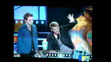 Robert Pattinson Cam Gigandet best fight Mtv awards 2009