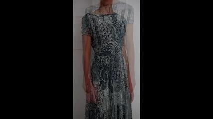 bote - Дълга рокля Антоанет