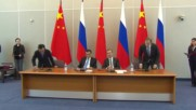 Russia: China and Russia sign more than 20 documents on bilateral cooperation