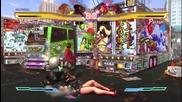 Comic Con 11: Street Fighter X Tekken - Steve vs Dhalsim Gameplay