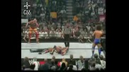 Hbk And Hogan Vs Carlito And Kurt Angle