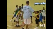 Sean Paul Pays Surprise Visit To Basketball Camp