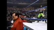 Kane vs. Triple H & X-Pac