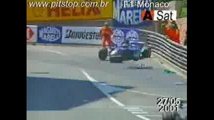 F1 - Monaco2001 hHeidfeld