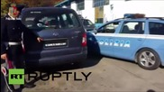 Italy: Police confiscate anti-speed camera car that BLINKS!