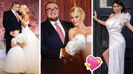Европейска романтика на първата годишнина от сватбата на сем. Гущерови