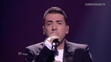 Сърбия / Zeljko Joksimovic - Nije Ljubav Stvar / Live - Евровизия 2012