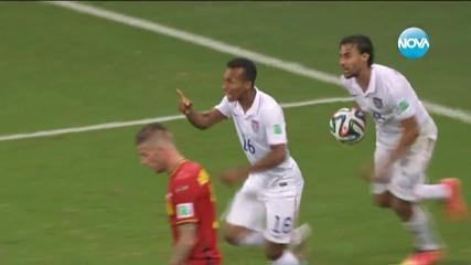 Белгия отстрани САЩ след 2:1 в продълженията