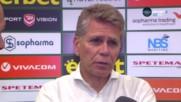 Пауло Аутуори: Не просто победихме, а се готвим да вървим напред