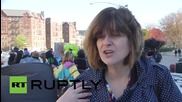 USA: Anti-gentrification rally hits Brooklyn Real Eastate Summit