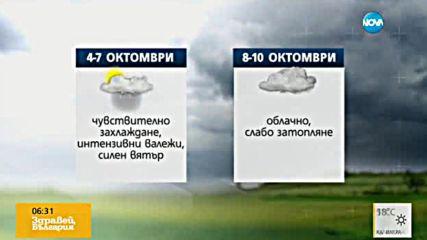 Прогноза за времето (30.09.2016 - сутрешна)