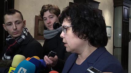 Таня Михайлова: Заповедта, срещу която протестират автоинструктори не е влязла в сила