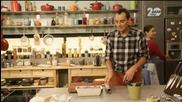 Кюфтета от кускус, пържени калмари, терин от червено цвекло, кюфтенца на шиш - Бон Апети