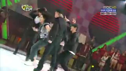 B2st - Shin bong seon Change cut @ Star Dance battel (14 feb 10) (hq)