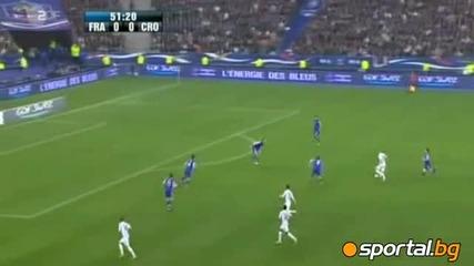 Франция - Хърватска 0 - 0